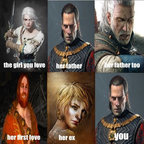 Witcher Meme Witcher 2 Witcher 3 Gwent Thronesbreaker