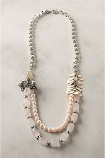 T's Simple Creations: Anthropologie Necklace Knock-Off