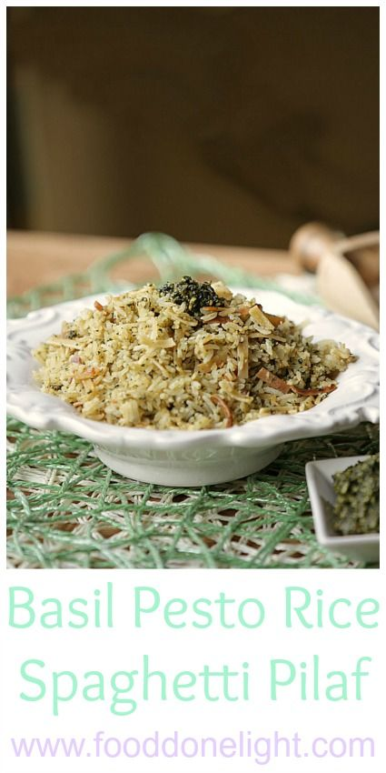Basil Pesto Rice A Roni And Pesto On Pinterest