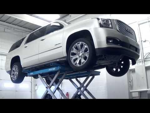 Commercial Grade Scissor Car Lift By Atlas 9 000 Lb Capacity Car Scissor Lift Scissor Lift Lifted Cars