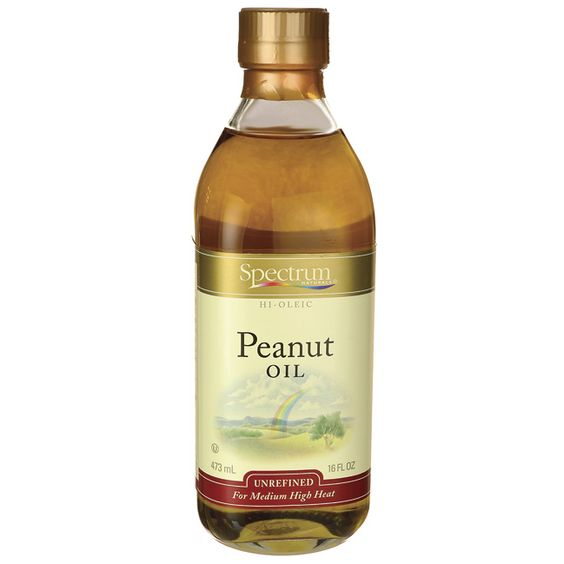 Spectrum Essentials Peanut Oil | 16 fl oz Liquid