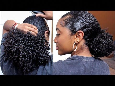 Vacation Wash Routine Easy Protective Style Healthy Natural Hair Video Black Hair Information Protectiveh Hair Styles Curly Hair Styles Beautiful Hair