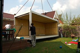 Ideale thuiswerkplek container vervangen geen tuin in je kantoor maar een kantoor in je tuin - Hoe om te beseffen een tuin ...