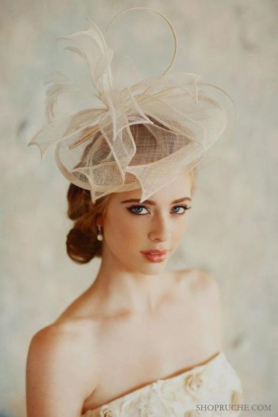 royal wedding bridal style inspiration wedding hat