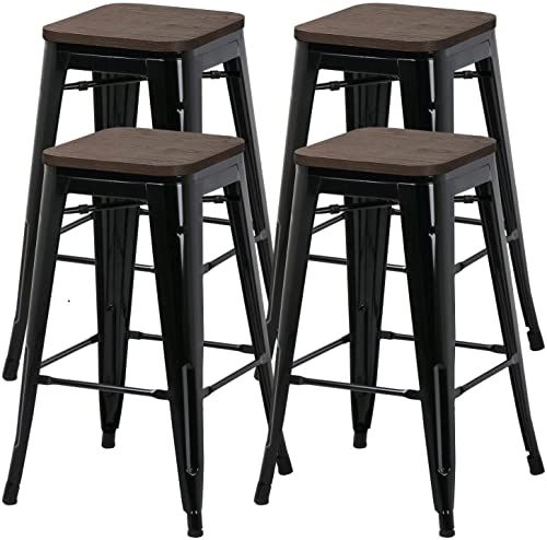 Enjoy Exclusive For Yaheetech 26inch Barstools Set 4 Counter