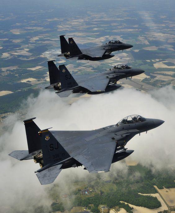 F-15 Eagle on the move....