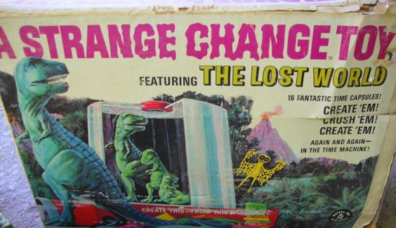 Strange Change Toy : Strange change toy from timewarptoys wayback machine