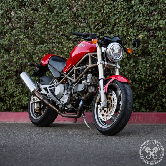 led headlight for ducati monster & sportclassic | project parts