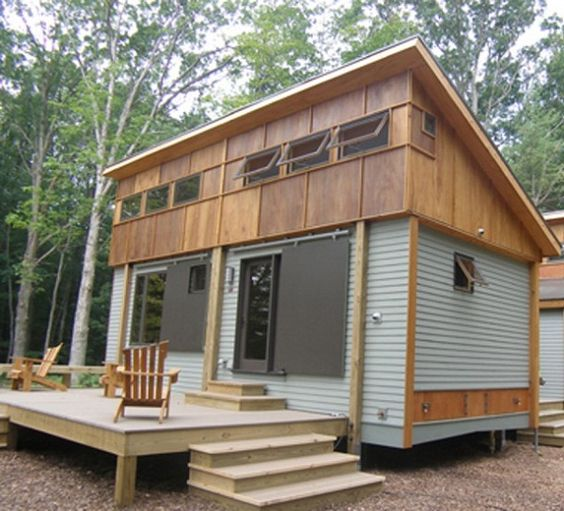 Small wooden house plans shelters pinterest house plans backyards and house ideas exterior - Small wood homes ...