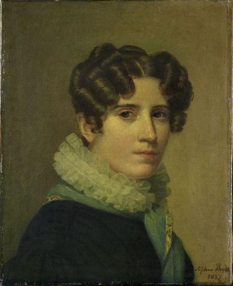 Sophie Rude Fremiet, Self-portrait, 1837: