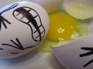 Cracked Egg | Fragile Thing Cracks | Pinterest | Faces and Eggs