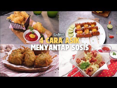 Pin Oleh Endeus Tv Di Jajanan Kekinian Resep Masakan Sosis Resep