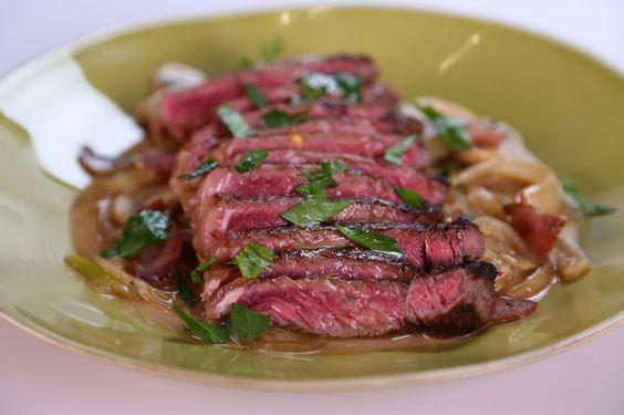 Pan Seared Strip Steak Michael Symon