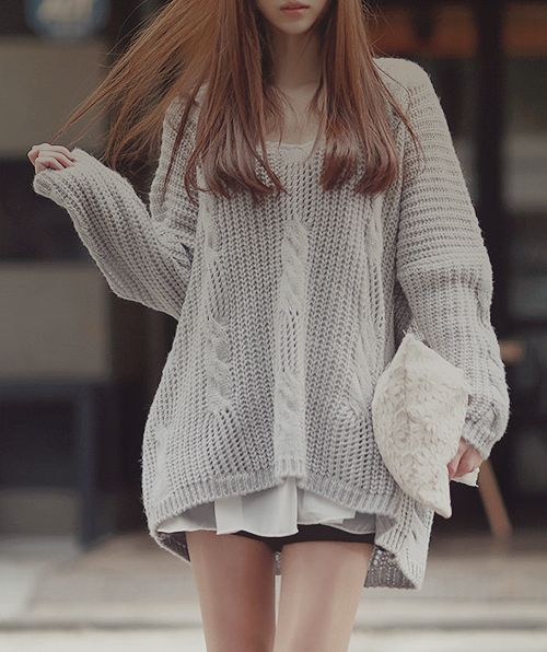 Oversized sweaters and leggings are so cute! And comfy! | Southern ...
