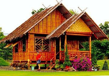 Best ideas about philippines nipa philippines hostel and - Bamboo house design and floor plan ...