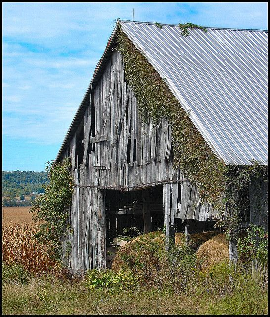 *Old barn still standing