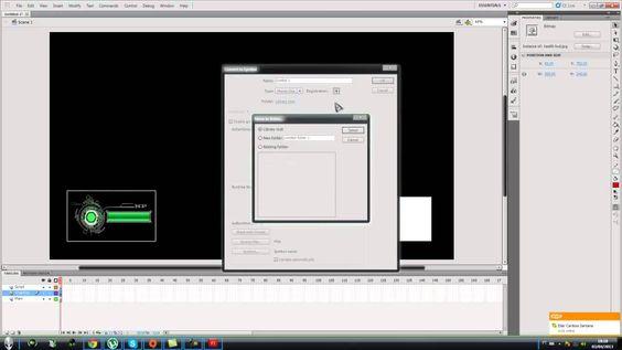 Tutorial de CryEngine 3 - Scaleform - parte 35: Criando um HUD de munição e vida - parte 1/2 jam3D