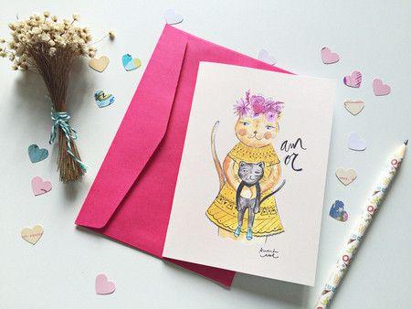 Cartão Mãe Felina - Amanda Mol | Loja