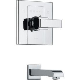 Delta Chrome Tub/Shower Trim Kit T14186