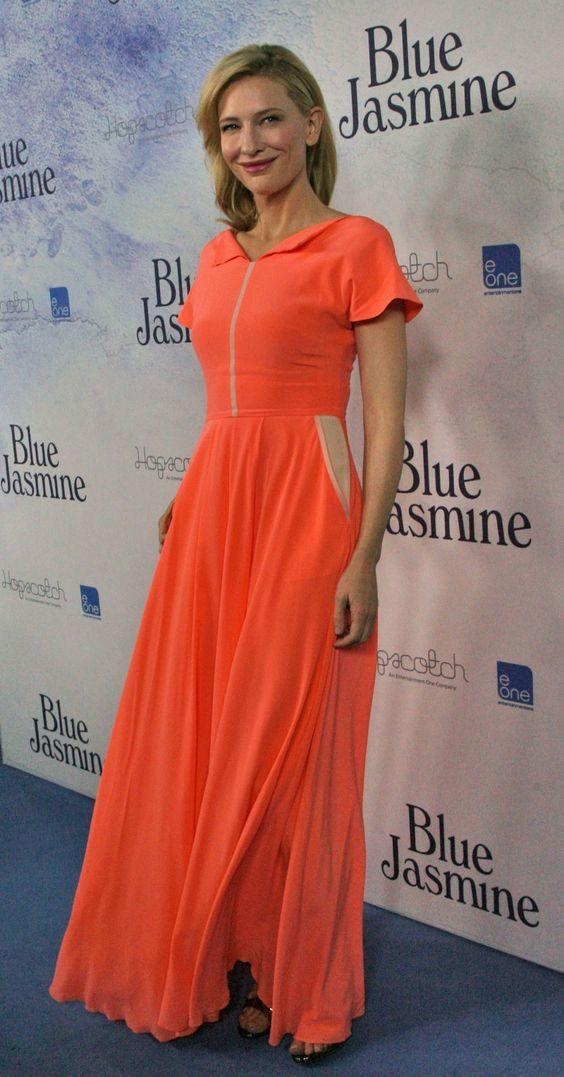 Cate Blanchett at 'Blue Jasmine' Australian Premiere