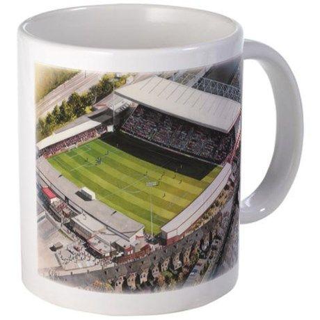 Gresty Road - Crewe Alexandra FC Mugs on CafePress.com...shop online today!