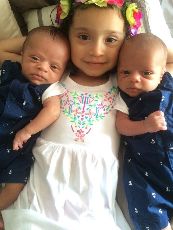 Big sister to twin boys