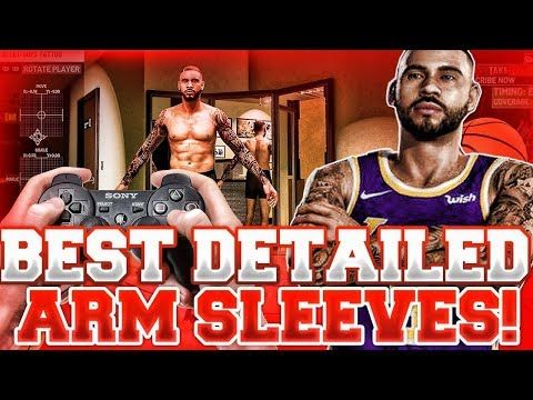 Best Advanced Detailed Tattoo Creation Nba 2k19 Youtube Nba Detailed Tattoo Arm Sleeve