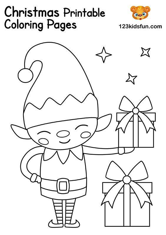 Free Christmas Printable 123 Kids Fun Apps Christmas Coloring Sheets Christmas Coloring Printables Printable Christmas Coloring Pages