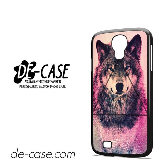 Pink-Wolf-Triangle-DEAL-8729-Samsung-Phonecase-Cover-For-Samsung-Galaxy-S4-/-S4-Mini