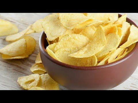 بطاطس شيبس بدون نقطة زيت Youtube Food Potato Chips Food Scientist