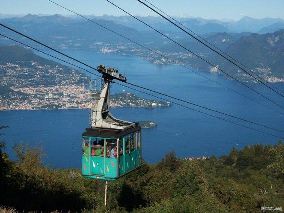 stresa-mottarone cable car