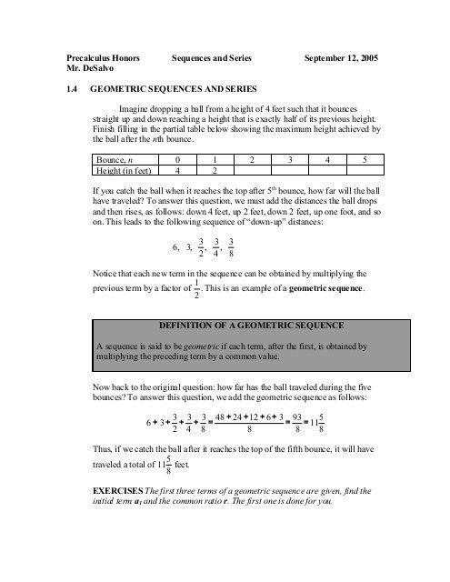 15 Kuta Software Infinite Algebra 2 Arithmetic Series Algebra Arithmetic Solving Quadratic Equations