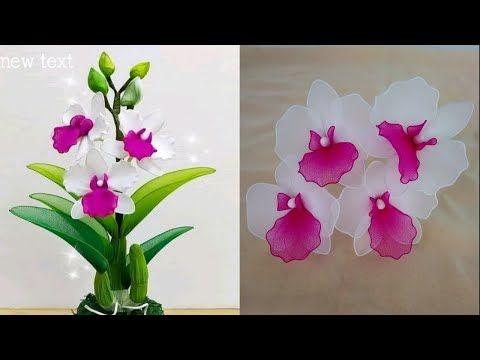 Tutorial Cara Membuat Bunga Anggrek Dari Stocking Part Ii Youtube Di 2020 Tutorial Bunga Kertas Bunga Bunga Kertas