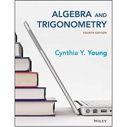 Algebra And Trigonometry 4th Edition Isbn 13 978 1119035091