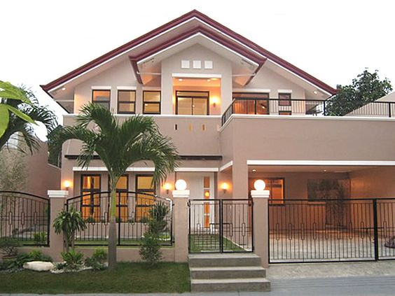 Philippine bungalow house design beautiful home style for Simple house exterior design