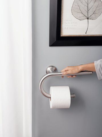 Moen site, you can pick up one of these grab bars for less than $60. The bars are tested to a 250lb weight.