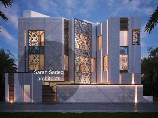 6e41337cec30cc7ef33ded09142ebf24 Facade House Modern House Design Modern Villa Design