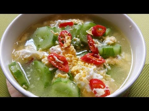 Resep Sayur Timun Kuah Telur Yang Enak Dan Gurih Youtube Resep Makanan Resep Masakan