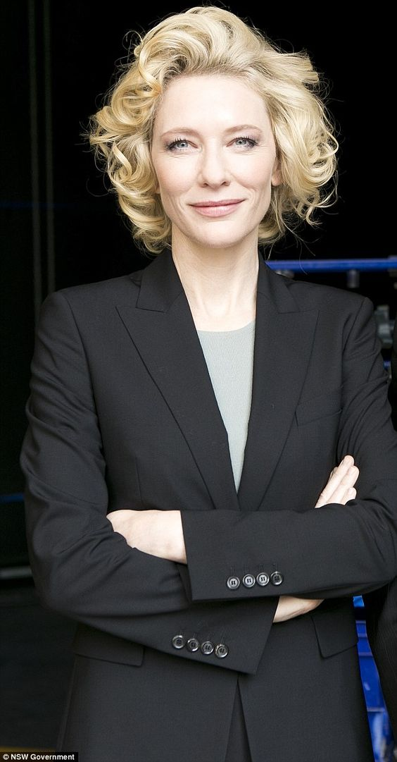 Cate Blanchett - showing all the other actresses how not to ruin her face with botox and surgery and fillers.