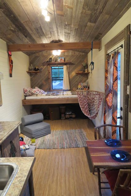 Bens Tiny House For Sale near Austin Texas Photo Home