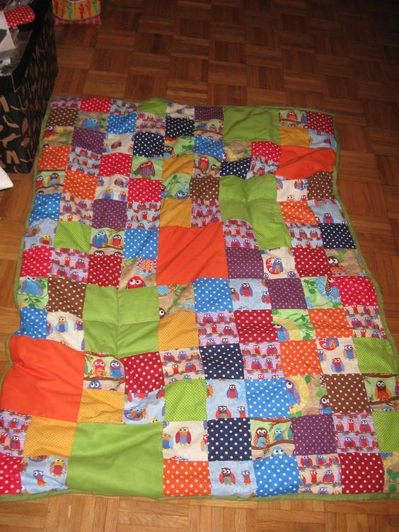 Eulen Design Baby Quilt