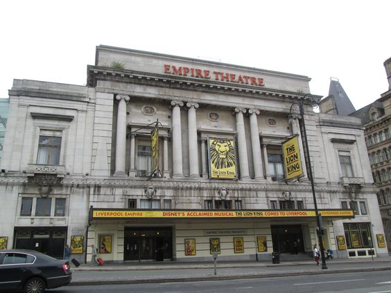 Empire Theatre - The Beatles supported Little Richard here in October 1962 and played their final Liverpool gig here in December 1965. Aerosmith played their UK debut here in October 1976