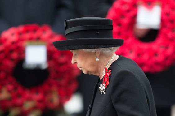 Prince Harry And Prince William Pay Their Respects On Remembrance