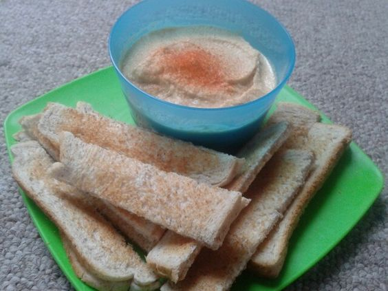 Just made some yummy hummus!