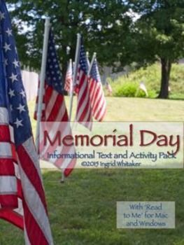 Memorial Day Activities to Honor Veterans is an engaging package of Memorial Day informational text and follow-up activities designed to teach students about this important United States holiday.  In this package you get:An engaging informational text about the history of Memorial Day past and present, carefully researched using multiple sources,A set of text dependent comprehension follow-up questions.The text of the poem In Flanders Field, with a follow-up writing activity.Several lined…