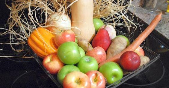 Was reift wann - regionales Obst und Gemüse im November