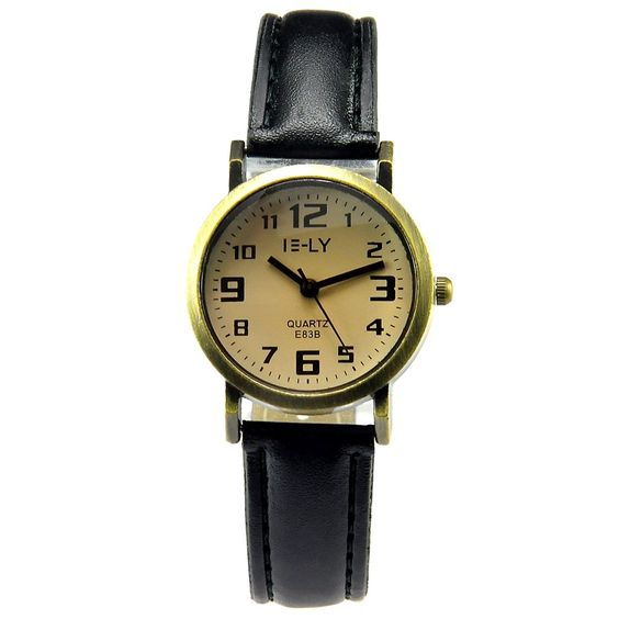Women Quartz Watch Digital Fashion Genuine Leather Strip Waterproof Wrist Watches -- Awesome products selected by Anna Churchill