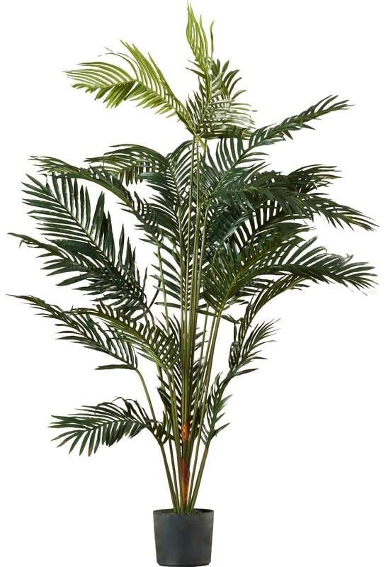 77 Paradise Palm Tree In Pot Potted Trees Faux Plants Floor Plants
