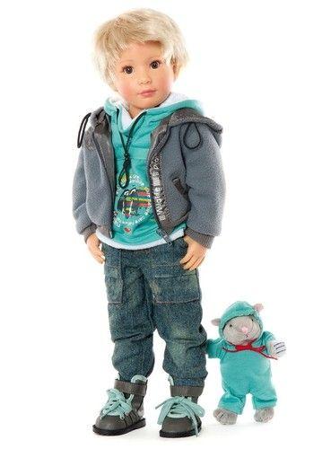 Sonja Hartmann Kids N 'Cats Tim 18 inch doll