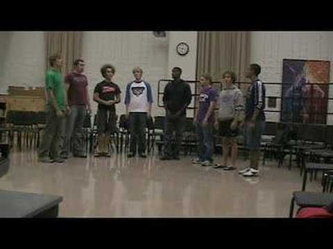 """Farther Along Octet sings """"I'll Fly Away""""...great unaccompanied music by Mennonite students at Goshen College"""